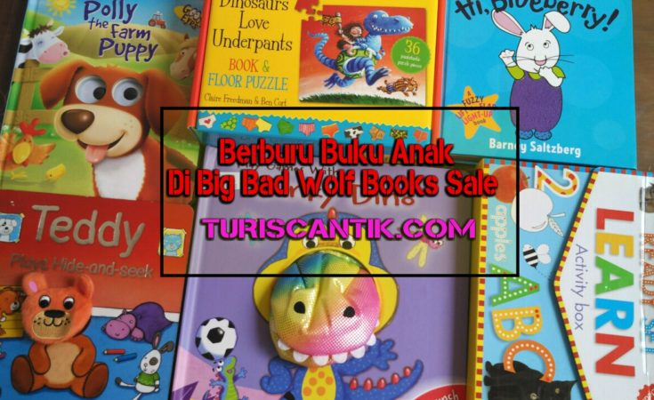 berburu buku anak di big bad wolf