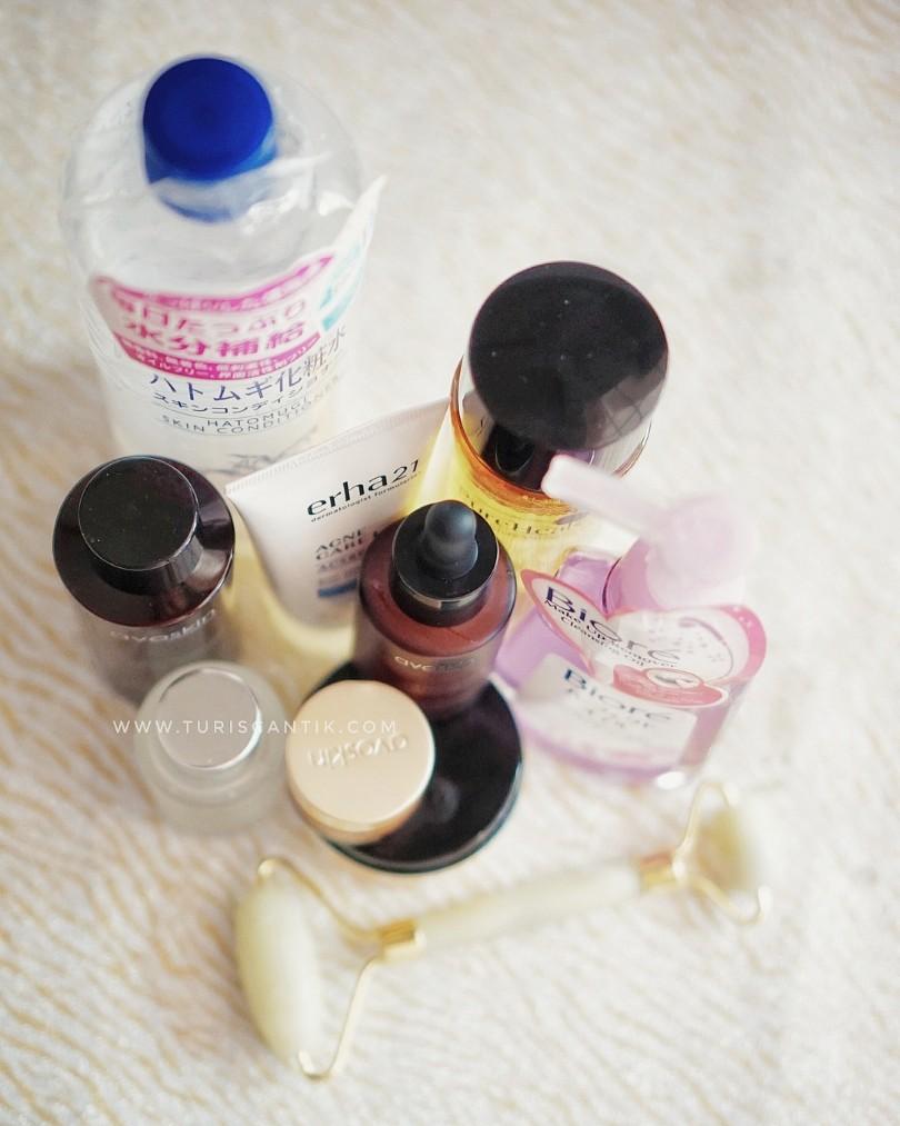 Skincare Routine kulit Berminyak dan berjerawat - Turis Cantik