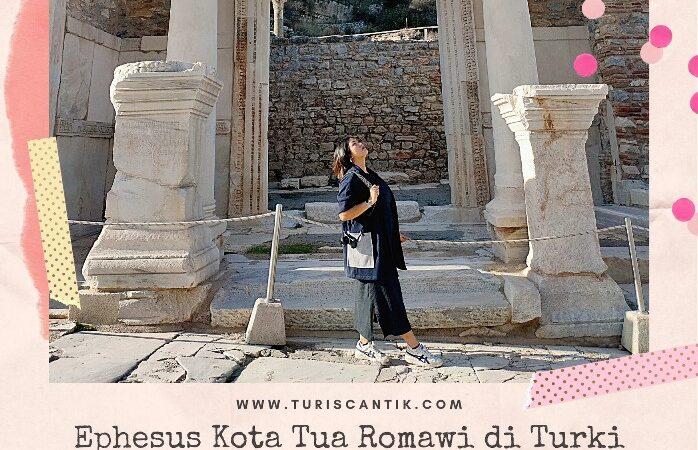 ephesus kota tua romawi di turki