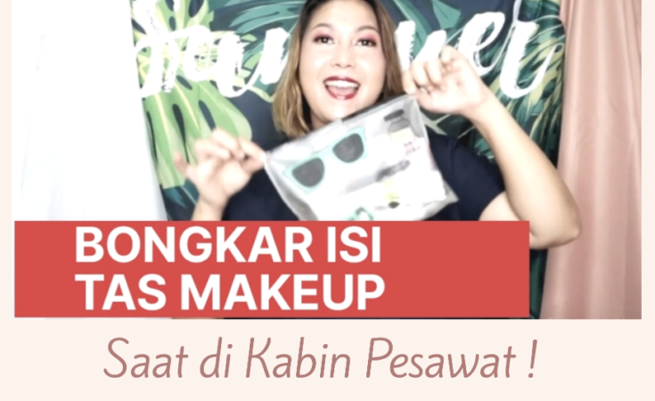 is tas makeup di kabin pesawat